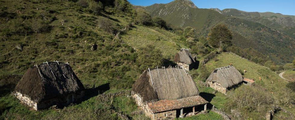 Vista general de la Braña de Endriga, desde la que se domina todo el valle de Saliencia / Foto: Roger Rovira
