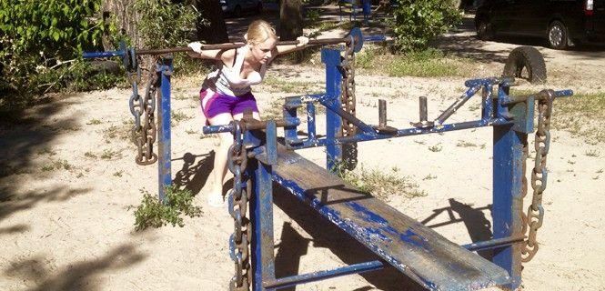 gimnasio al aire libre madrid